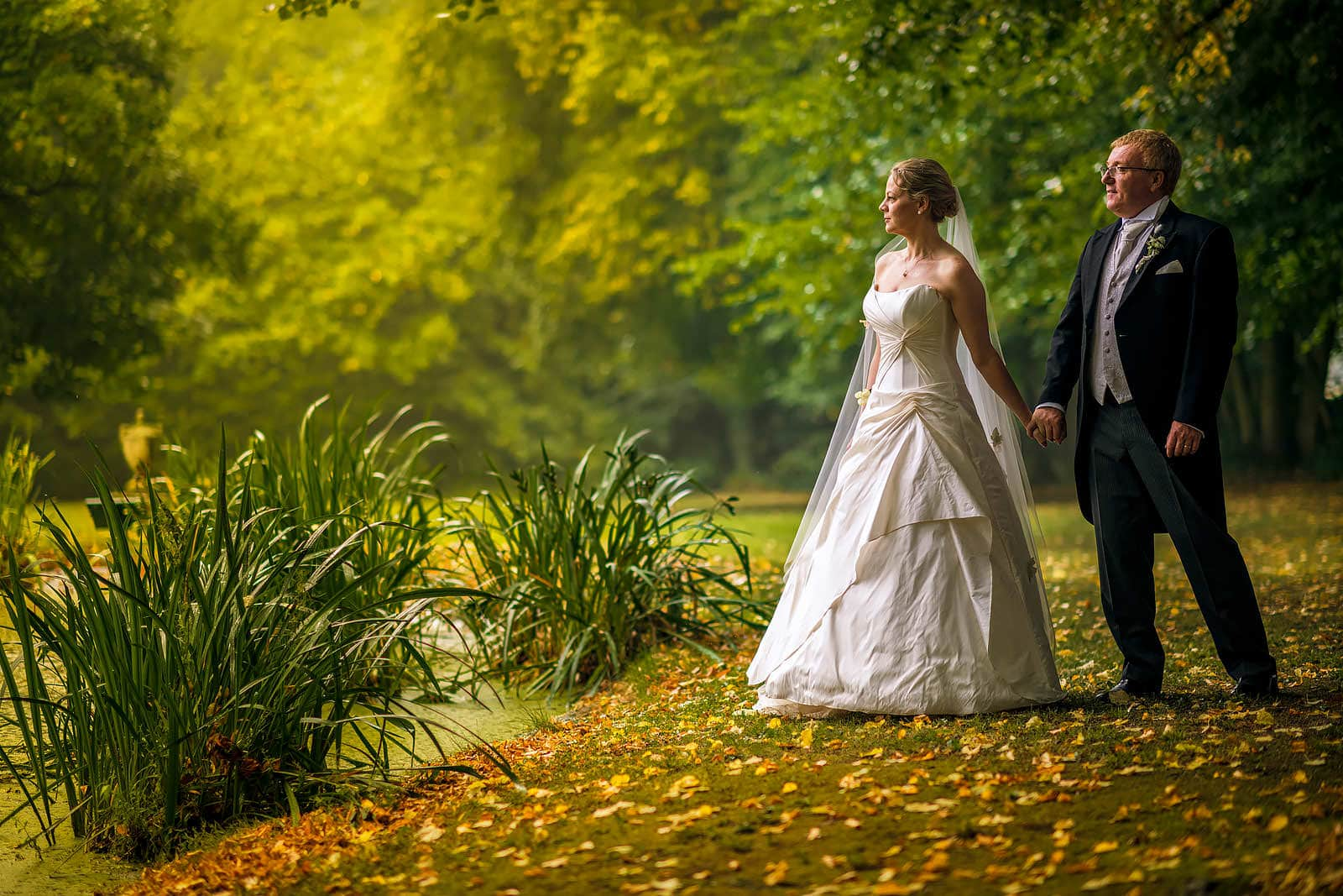 Special wedding day at the Forest of Dean