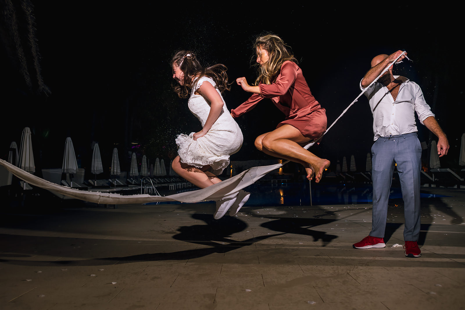 Puro Beach Marbella wedding