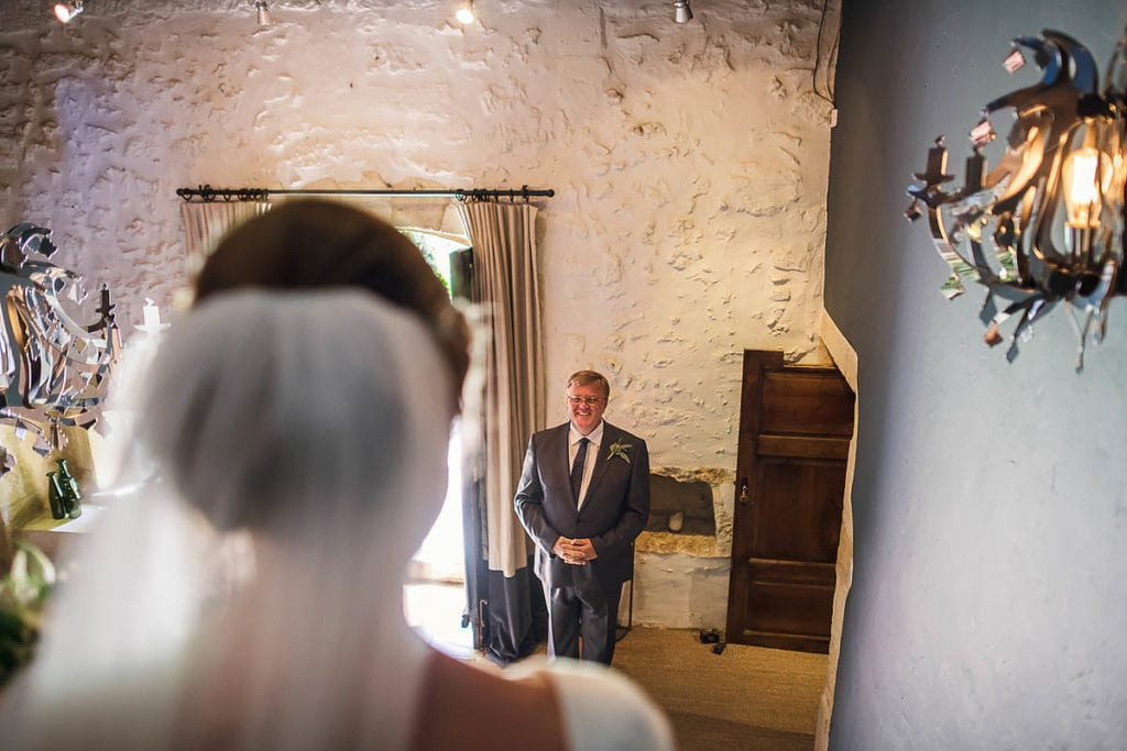 Father of the bride at Chateau Rigaud