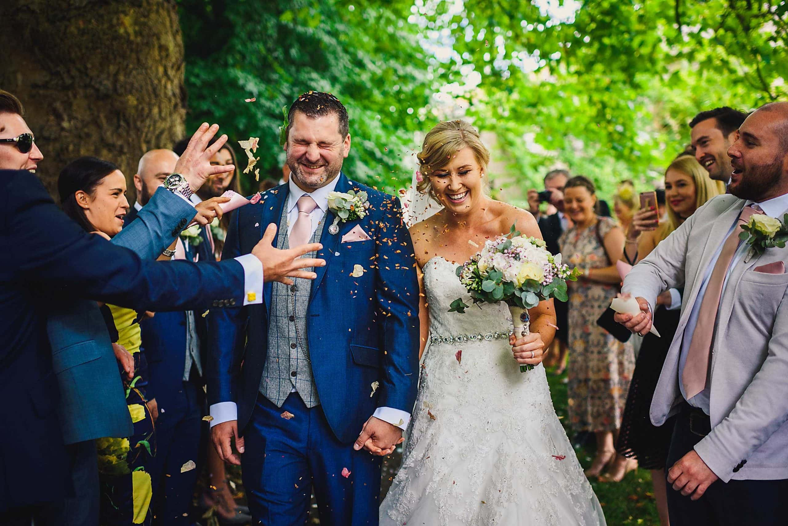 Wedding photography in Gloucestershire