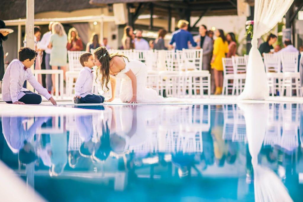 Wedding day at the amazing Puro Beach in Marbella