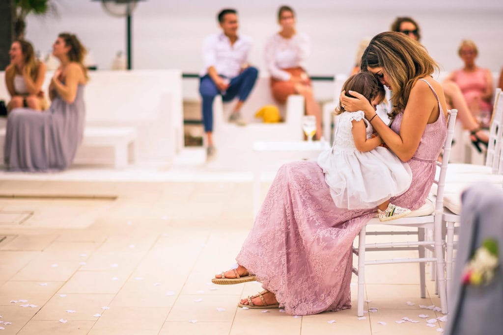 Magic moments at a wedding in Marbella