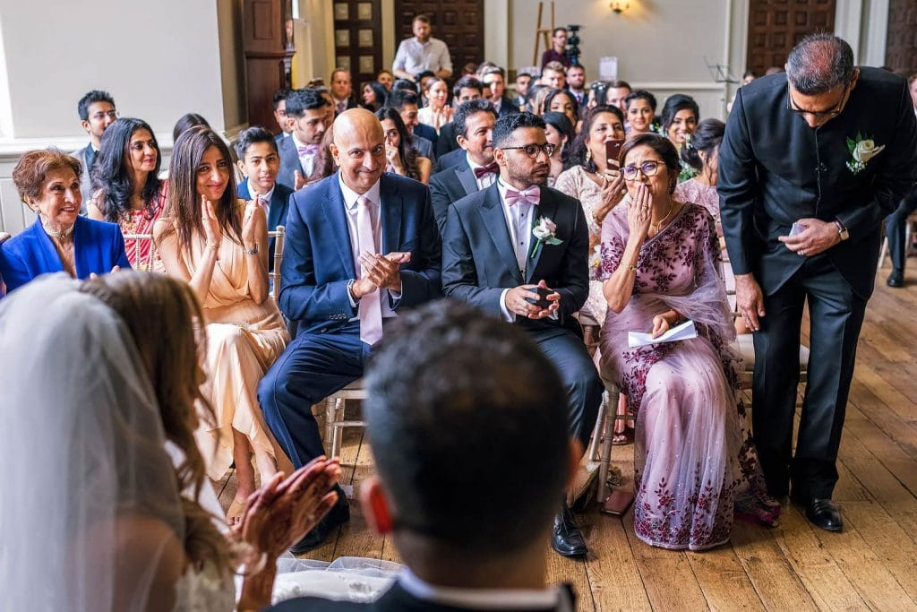 Indian British Fusion wedding