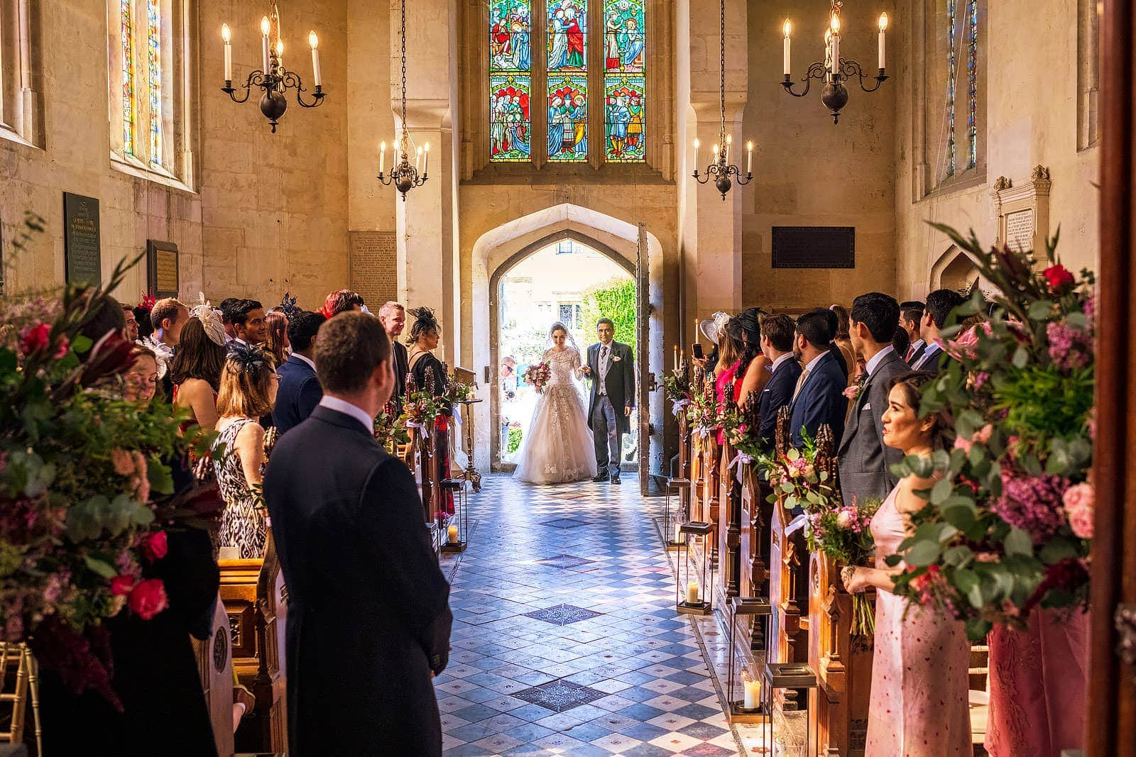 Sudeley Castle Cotswolds wedding