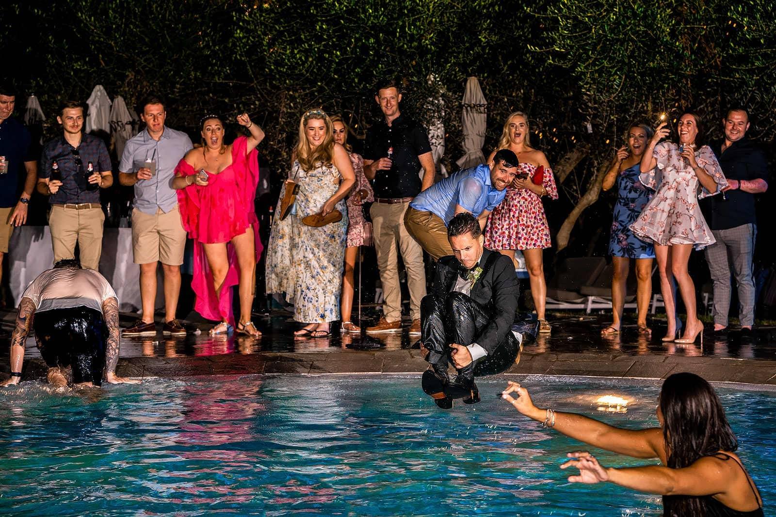 Aquapetra resort wedding by Dan Morris Photography