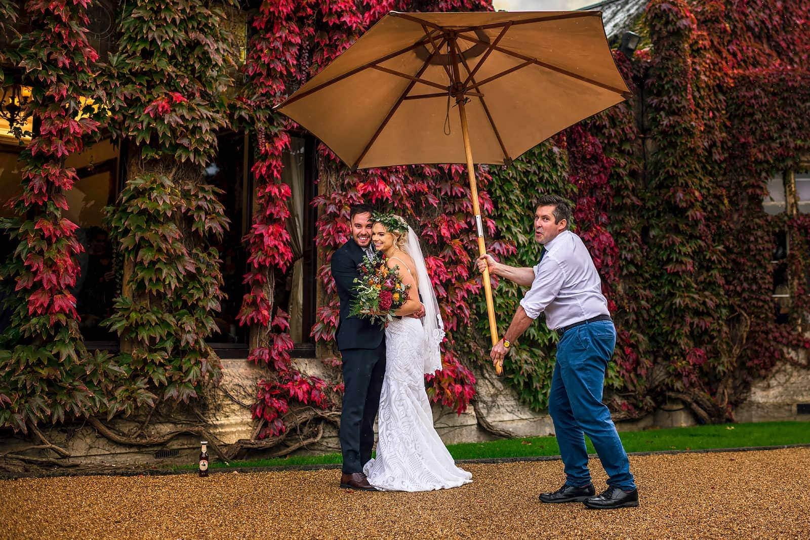 Reportage wedding photography UK
