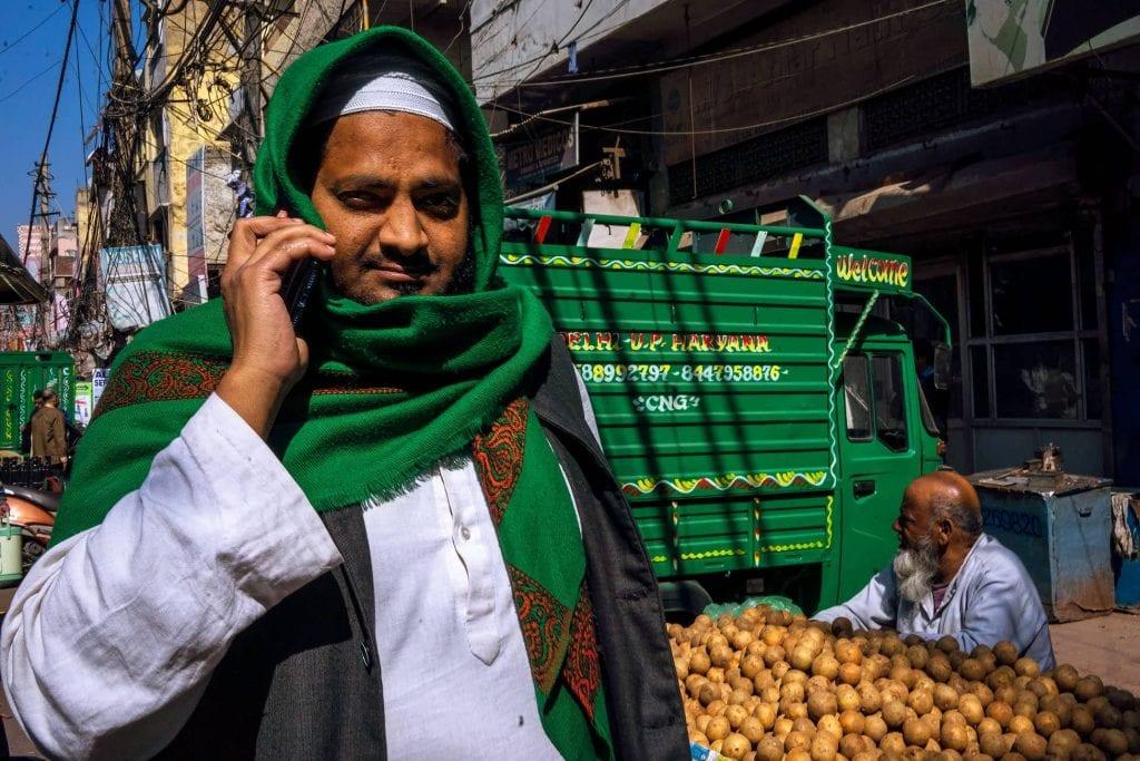 Delhi street photographer