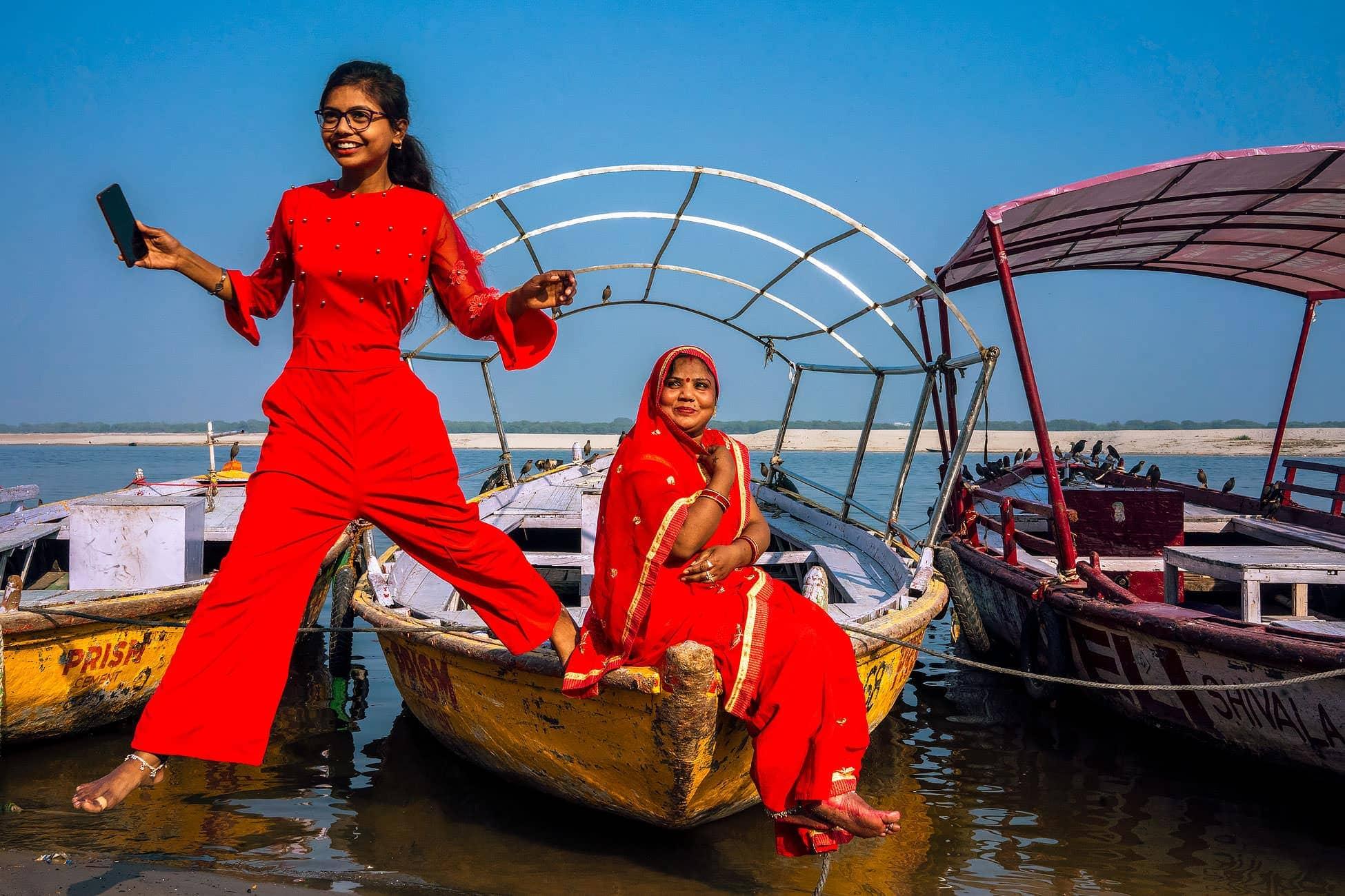 India street photography Varanasi and Delhi