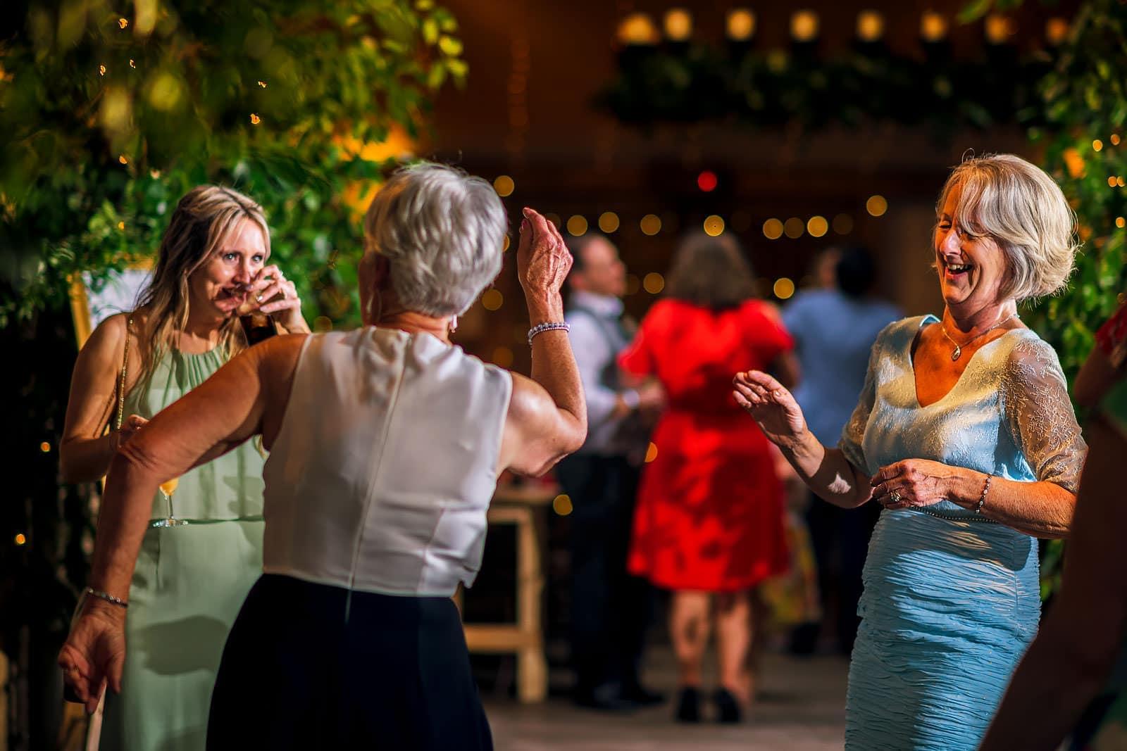 Dance floor action at Cripps Barn