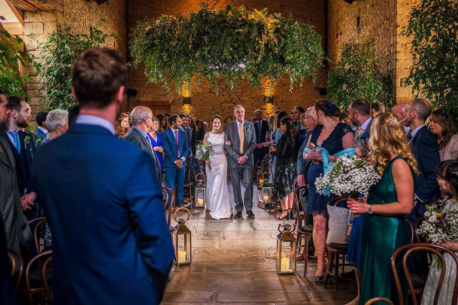 Cripps Barn Cotswolds wedding