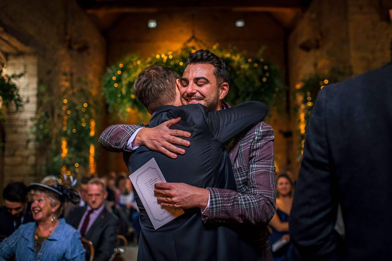 Love and emotion at this wedding