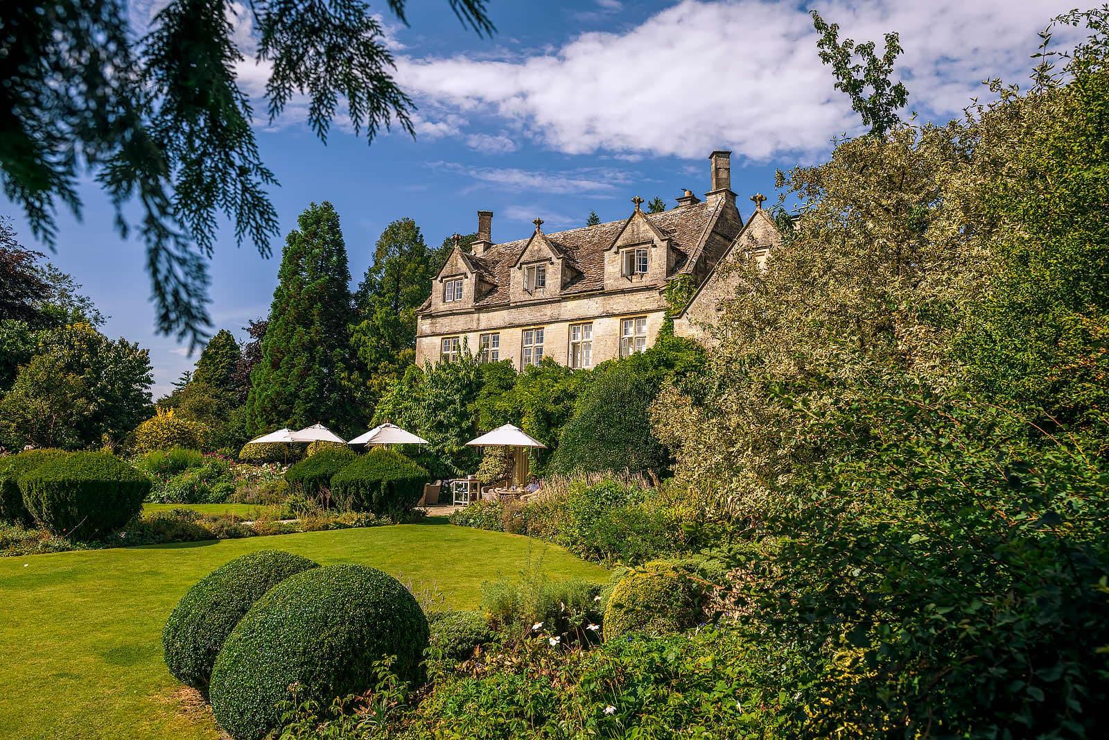 Barnsley House Cotswolds wedding venue