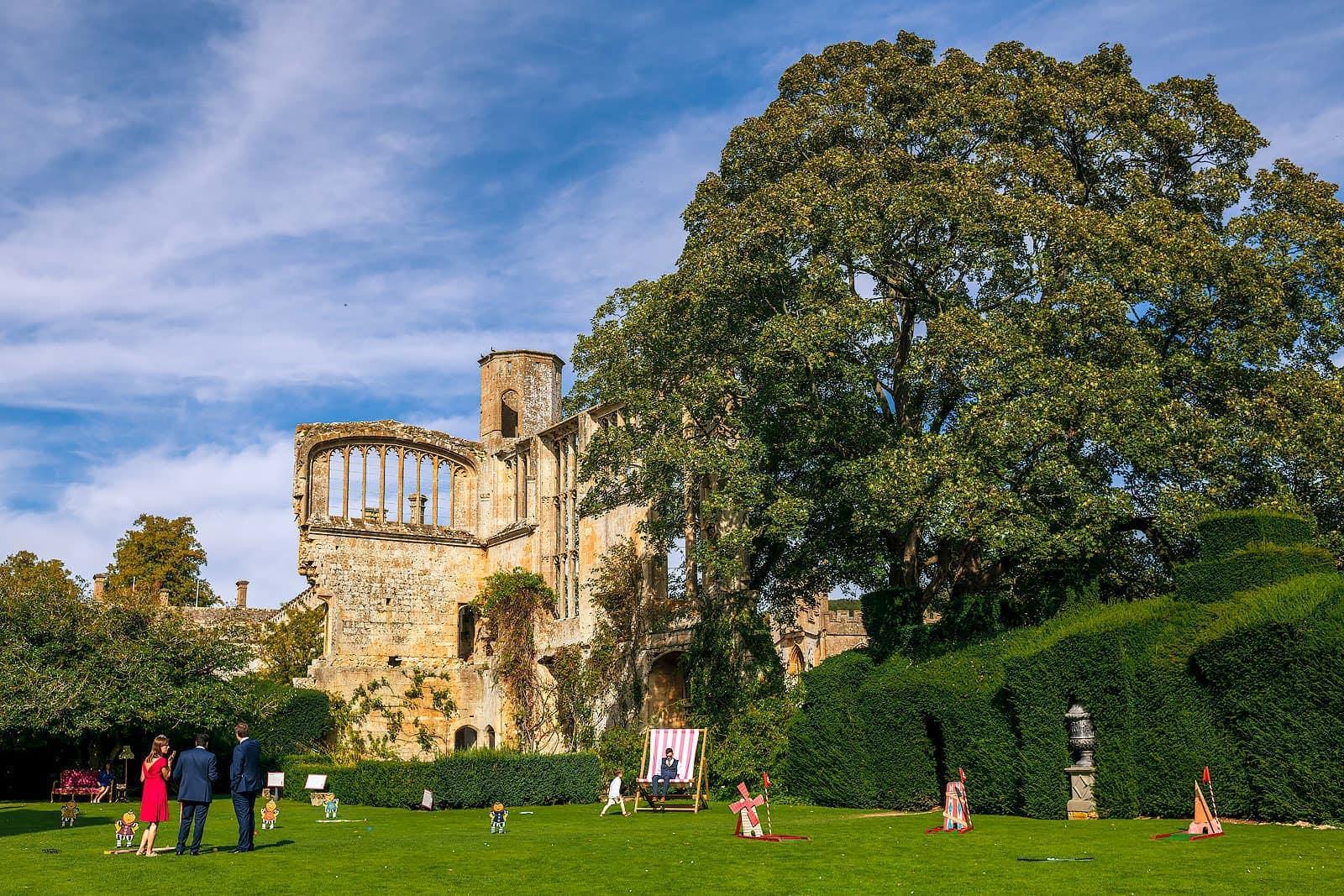 Cotswolds castle wedding venues, Sudeley Castle