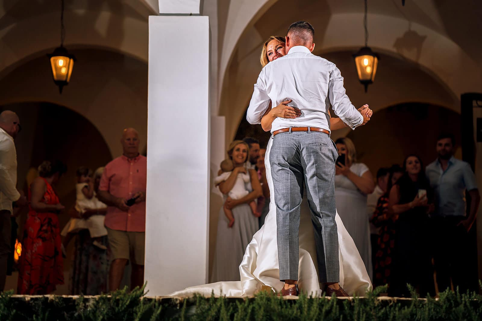 First Dance at Quinta Dos Santos wedding Algarve
