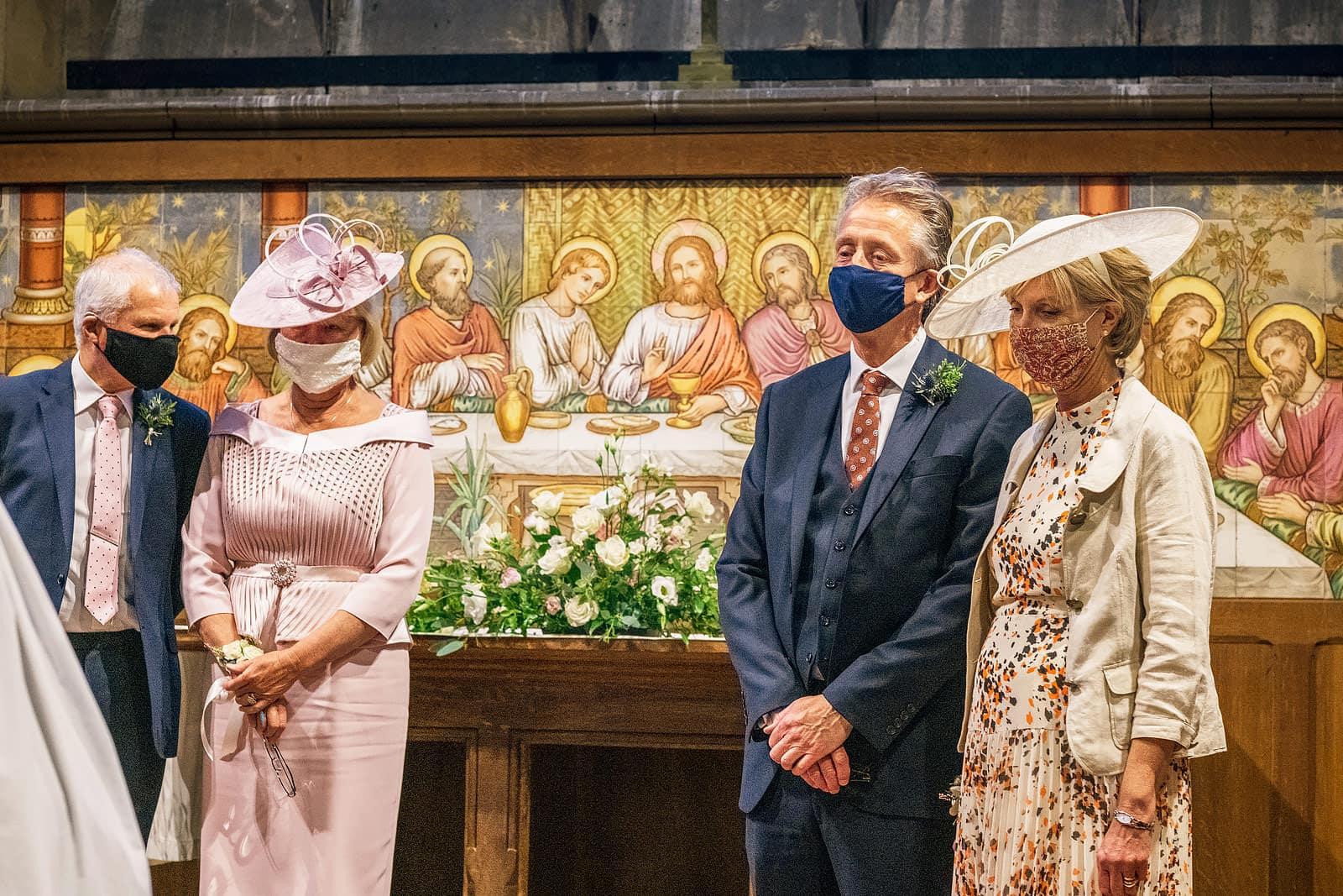 Corona Virus micro wedding