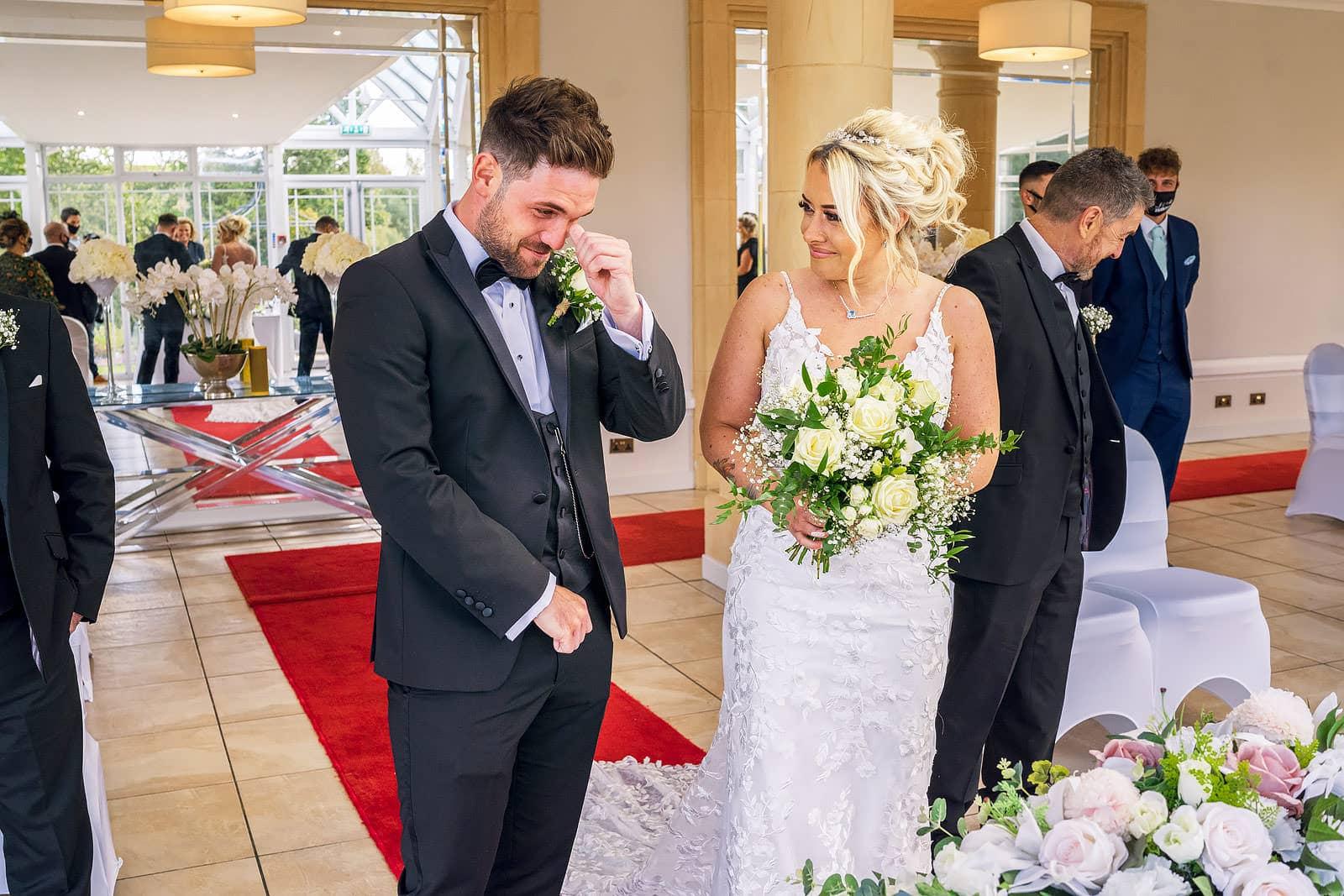 The Vale Resort wedding