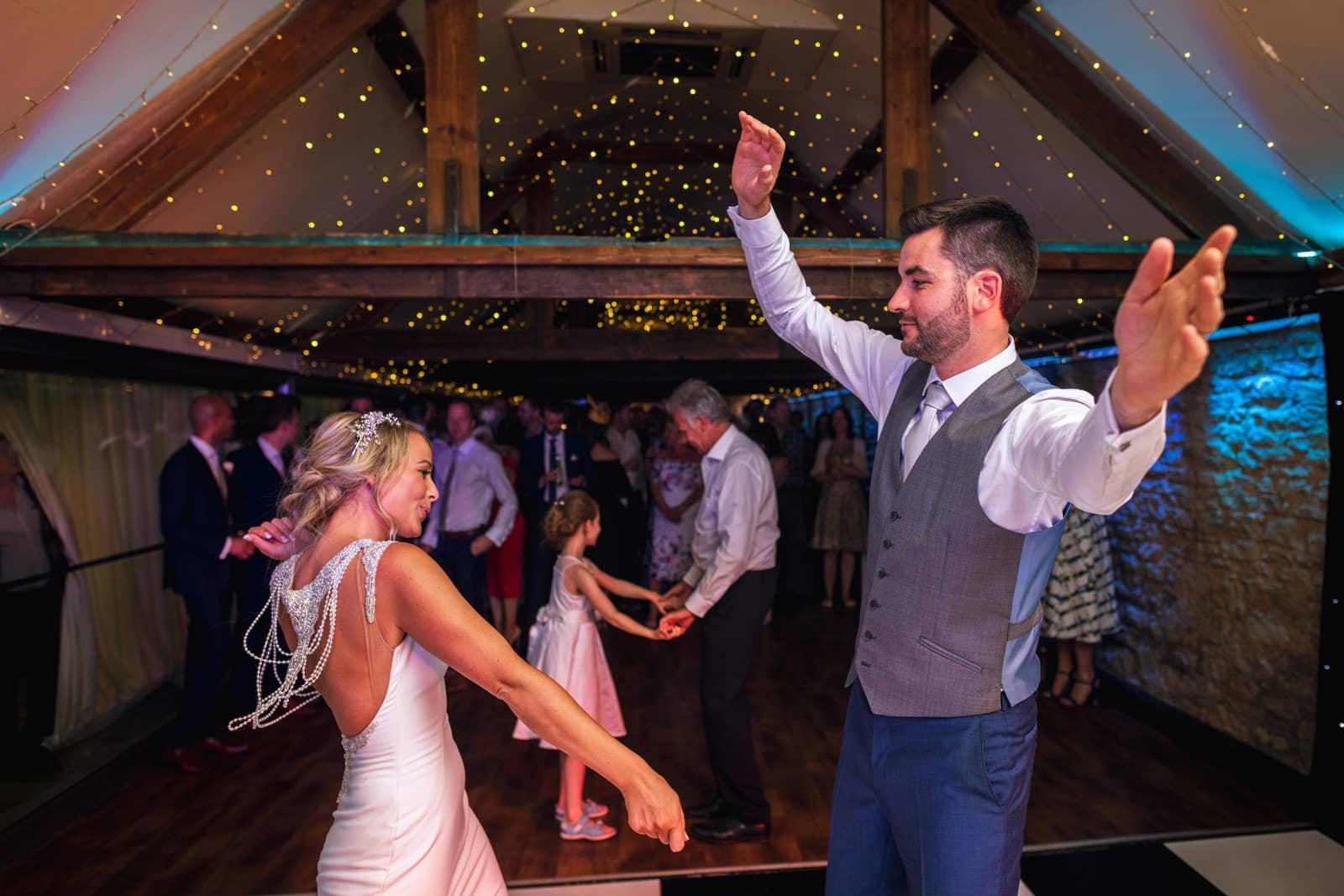 First dance at Birtsmorton