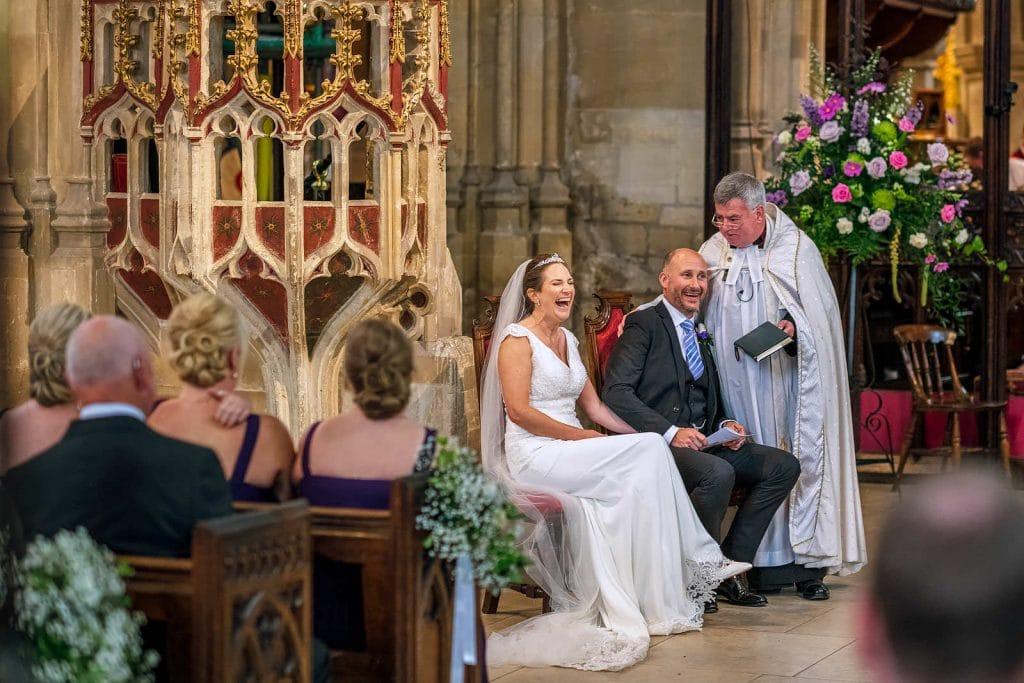 Church of St John Baptist Cirencester wedding